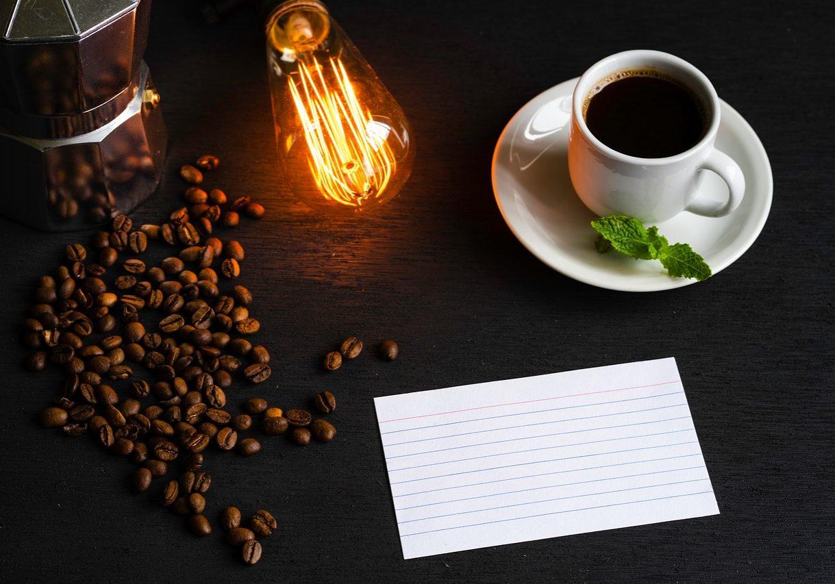 espresso, white cup, black coffee